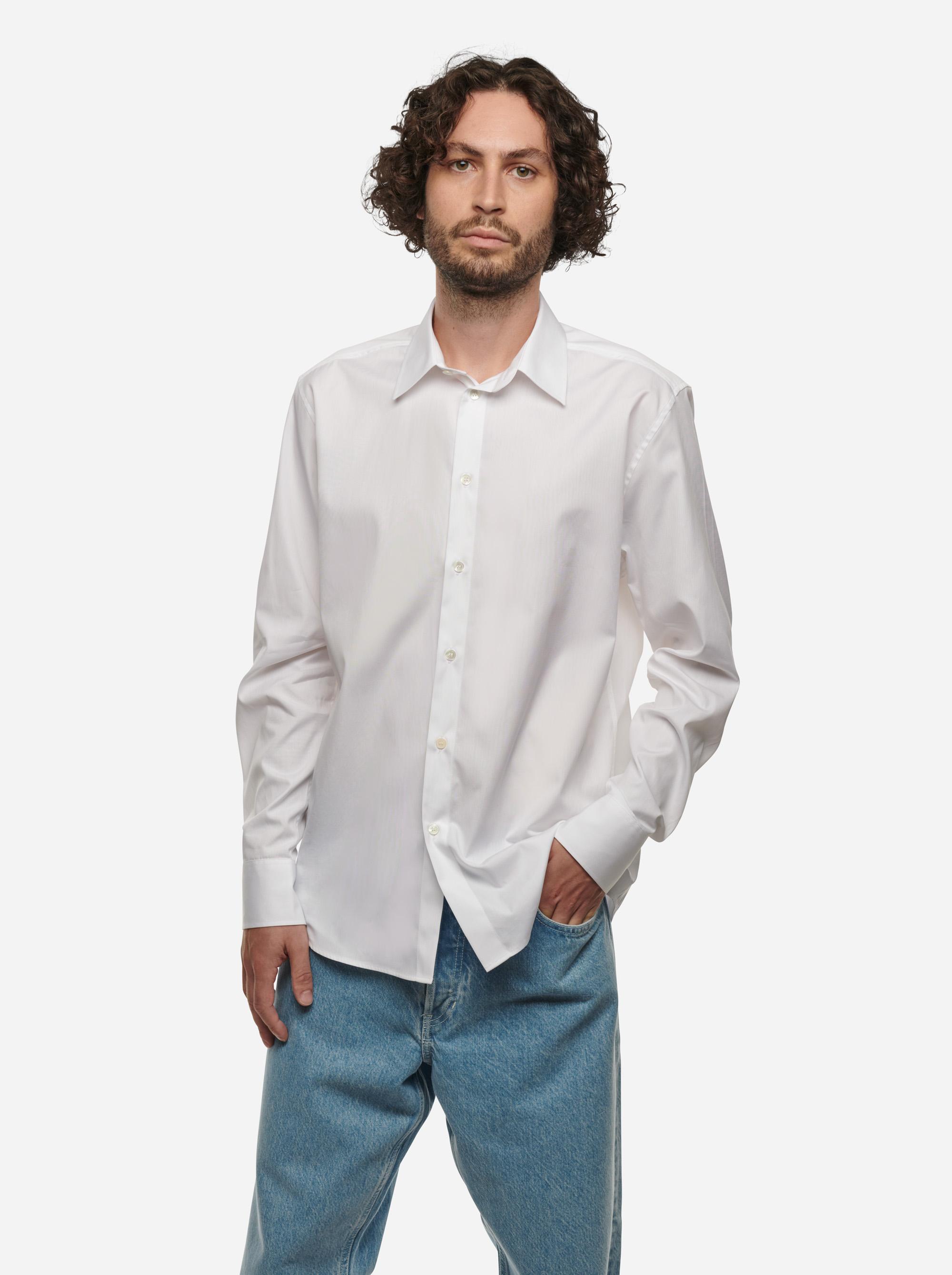 Teym - The Shirt - Men - White - 1
