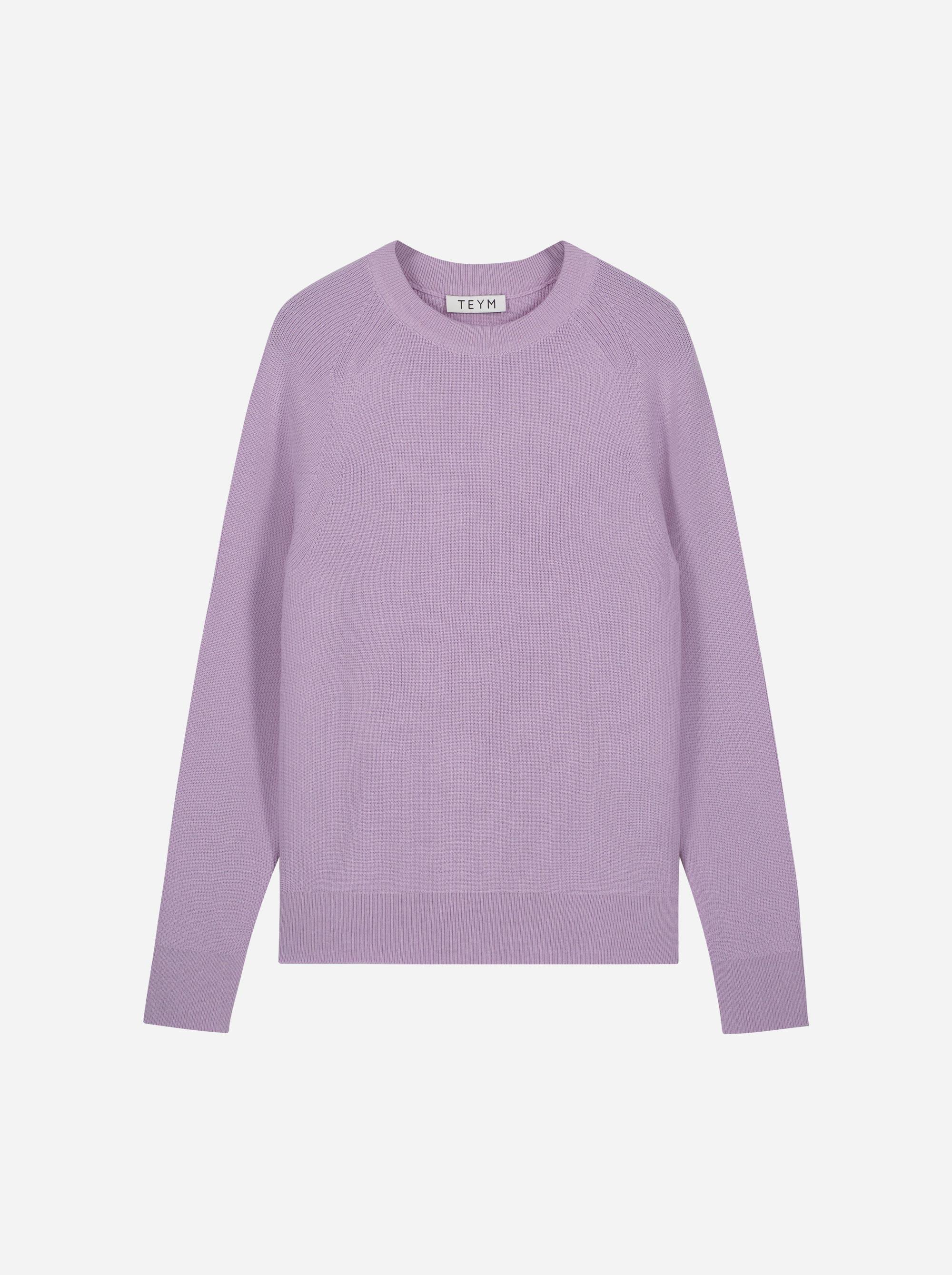 Teym_Merino-Sweater-Crewneck_lila_front_1